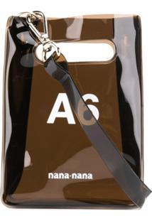 Nana-Nana Bolsa Transversal A6 Paperbag - Preto