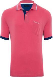 Camisa Pólo Liso Pierre Cardin masculina  891d72e5b26d0