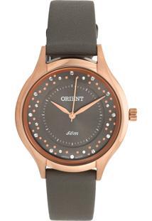 Relógio Orient Frsc0012-G1Gx Rosê/Cinza