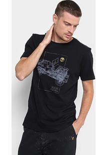 Camiseta Timberland Jipe Trail Masculina - Masculino