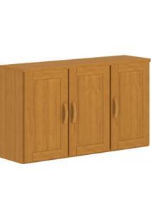 Aéreo Para Cozinha Jade Finestra 3 Portas Ref: 1321G Nogueira