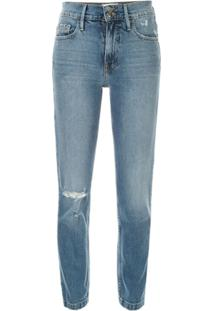 Frame Heritage Sylvie Skinny Jeans - Azul