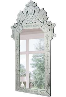 Espelho Decorativo Magno 120X60 Cm Prata