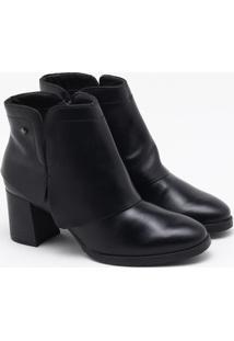 Ankle Boot Cravo & Canela Preta