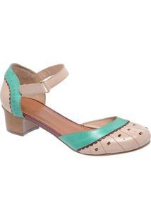 7aec67531 Privalia. Sapato Tradicional Em Couro Com Recortes Vazados- ...