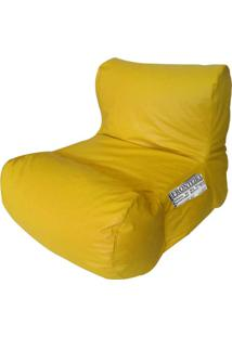 Puff Relax Corano Amarelo Stay Puff