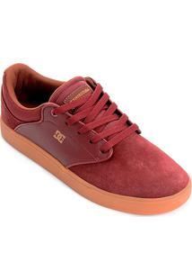 Tênis Dc Shoes Visalia La Masculino - Masculino-Vinho
