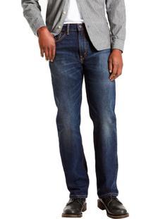 Calça Jeans Levis 505 Regular Azul Escuro Azul