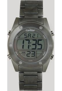 Relógio Digital Condor Masculino - Cobj3463Ae4C Grafite - Único