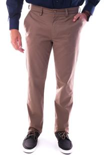 Calça 3018 Sarja Kaki Médio Traymon Modelagem Regular