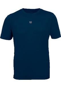 Camiseta Core Masculino Marinho P - Wilson