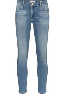 Frame Calça Jeans Skinny Le High - Azul