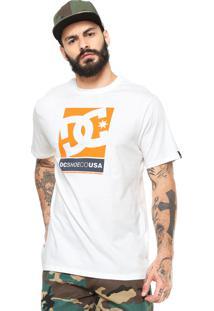 Camiseta Dc Shoes Wilin Off-White