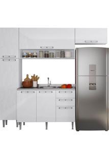 Cozinha Completa 16 Mia Coccina Branca P3