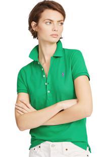 Camisa Polo Polo Ralph Lauren Slim Verde
