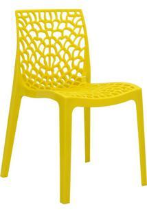 Cadeira De Jantar Gruvyer Amarelo