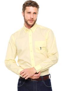 Camisa Aleatory Bolso Amarela
