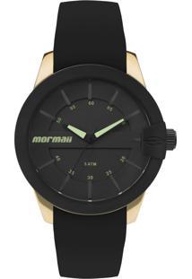 da123aa30e521 ... Relógio Mormaii Maui Mo2036In 8P 41Mm Silicone Preto