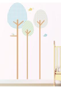 Adesivo Decorativo Stixx Árvore Fofura Menino Azul