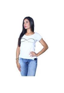Camiseta Heide Ribeiro Forever Branco