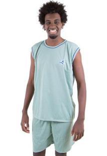 Pijama Linha Noite De Malha Masculino - Masculino