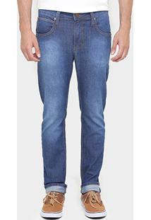 Calça Colcci Skinny Felipe Stone Elastano - Masculino-Jeans