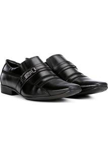 Sapato Social Mariner Asturias Masculino - Masculino-Preto