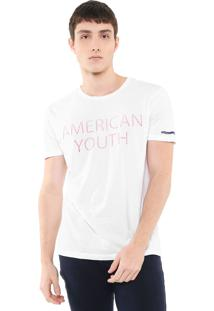 Camiseta Calvin Klein Jeans American Youth Branca