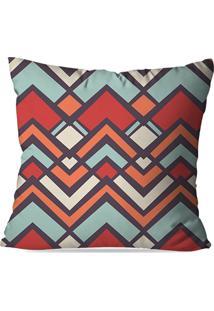Capa De Almofada Love Decor Avulsa Geometric Multicolorido - Kanui