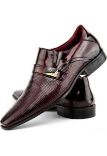 Sapato Social Gofer Tebbas Vinho
