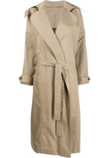 Preen By Thornton Bregazzi Savannah Trench Coat - Neutro