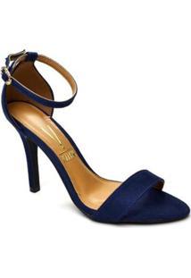 c0afe157a Sandália Azul Marinho Preta feminina