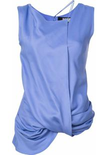 Jacquemus Dhubia Draped Top - Roxo