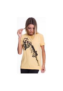 Camiseta Jazz Brasil Tattoo Machine Amarela
