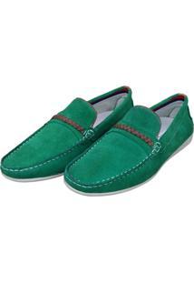 Mocassim Navit Shoes Driver Verde