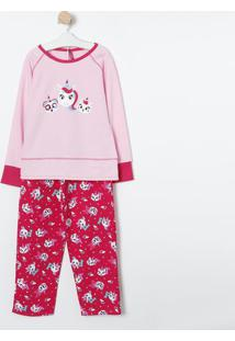 "Camisola ""Team Unicorn""- Rosa & Pink- Puketpuket"
