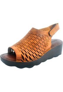 Sandália S2 Shoes Moara Mostarda - Kanui