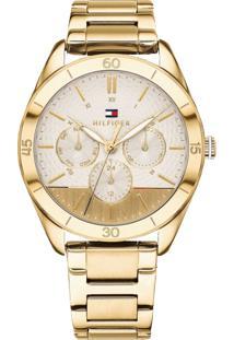 00d5bb6eabc Vivara. Relógio Dourado Feminino Tommy Hilfiger ...
