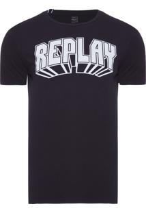 Camiseta Masculina 3D - Preto