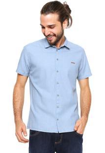 Camisa Sommer Reta Azul