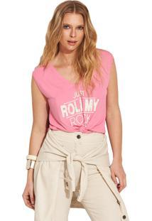 T-Shirt Garnus Cava Reta Rosa