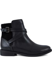 Bota City Boots Tenex Levis - Feminino-Preto
