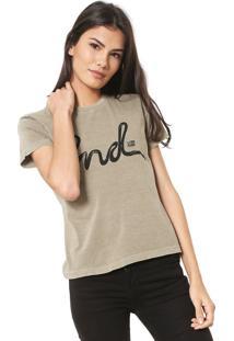 Camiseta Ellus 2Nd Floor Snake Verde