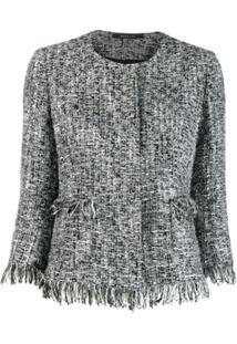 Tagliatore Jaqueta Milly De Tweed - Cinza