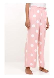Calça De Pijama Poá