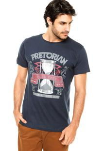 Camiseta Pretorian Hold Fast Azul