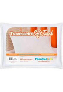 Travesseiro Solf Touch Baby Branco 30X40