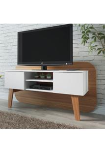 Rack Com Painel Para Tv Inferior Trend 12054 Hanover/Branco - Artesano
