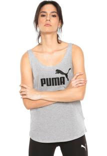 Regata Puma Essentials Tank Cinza