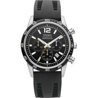 ec26c2f2369 Relógio Vivara Masculino Borracha Preta - Ds13101R1B-1